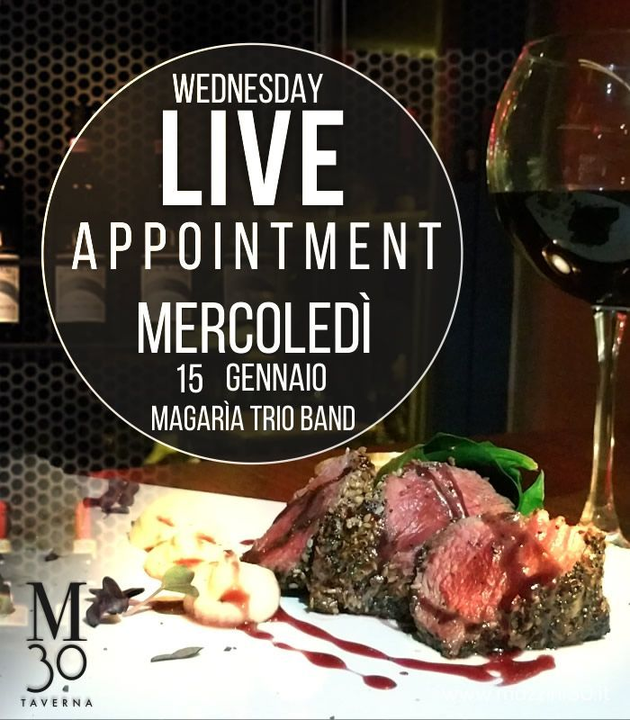 Wednesday live appointment